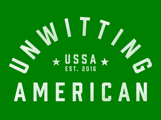 Unwitting American: T-Shirts and More, Made in the U.S.S. of A.
